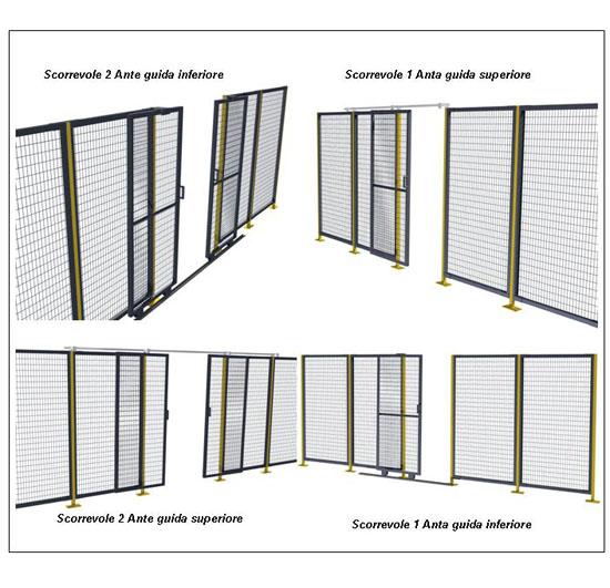 Conveyor Market Porte Scorrevoli Per Reti Di Protezione